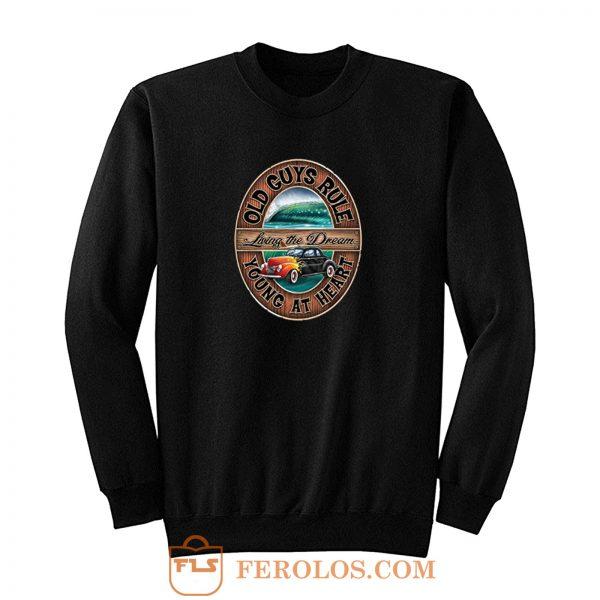 Old Guys Rule Retro Sweatshirt