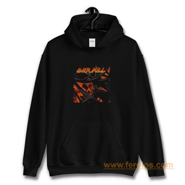 Over Kill Metal Band Hoodie