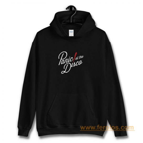 Panic At The Disco Red Stripes Band Hoodie