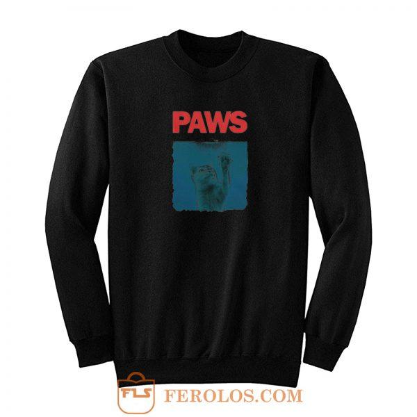 Paws Kitten Sweatshirt