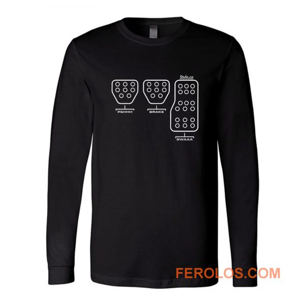 Pedal Funny Long Sleeve