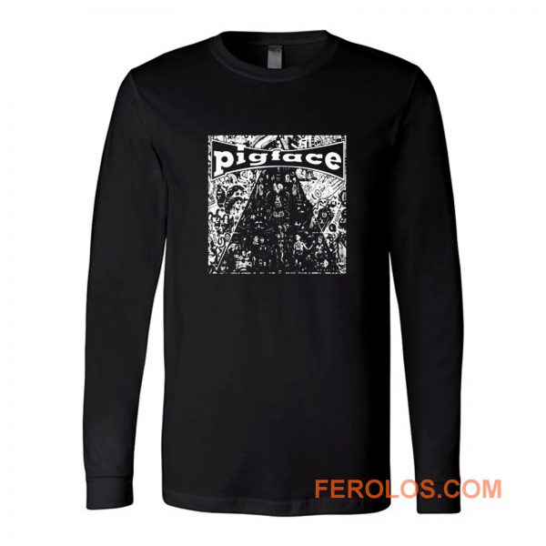 Pig Face Rock Band Long Sleeve
