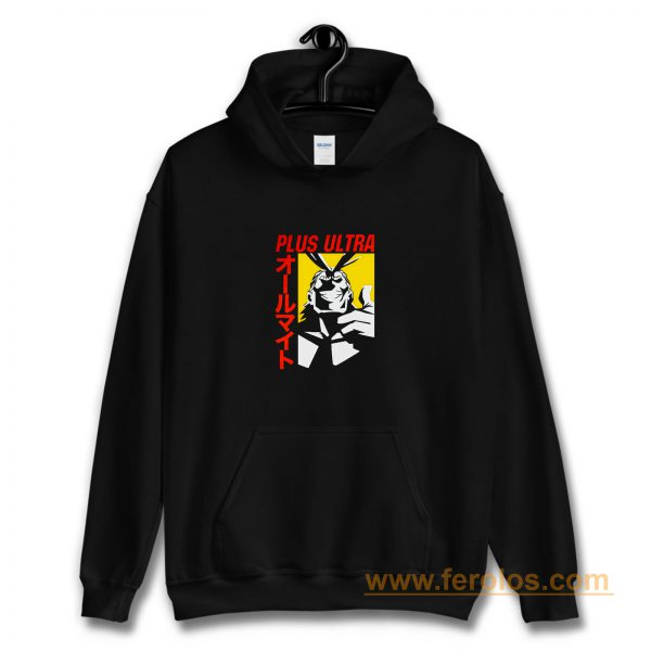 Plus Ultra All Might My Hero Academia Hoodie