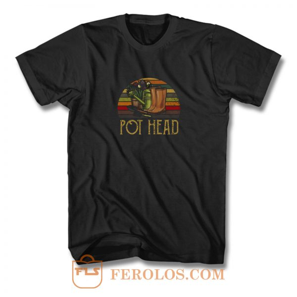 Pot Head Vintage T Shirt