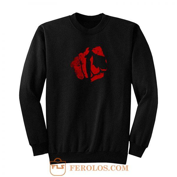 Punch Hand Of Saitama Sweatshirt