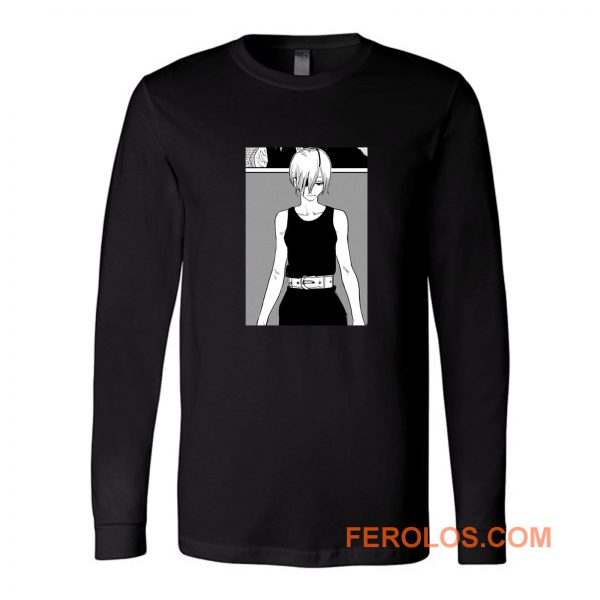 Quanxi Comic Theme Chainsawman Anime Long Sleeve