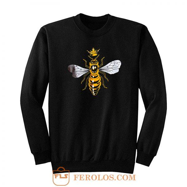 Queen Bee Cute Sweatshirt