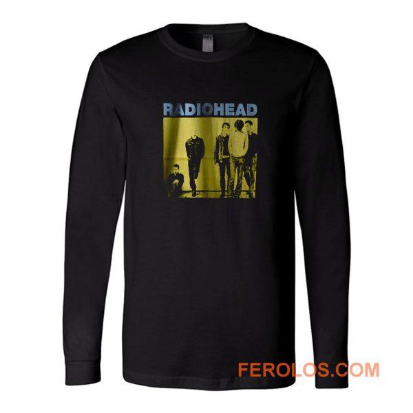 Radiohead Black Rock Band Long Sleeve