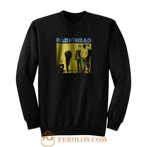 Radiohead Black Rock Band Sweatshirt
