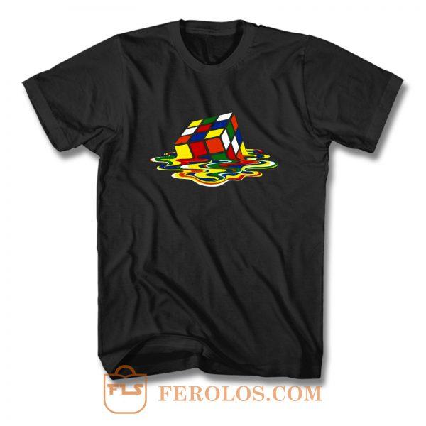 Rainbow Cube T Shirt