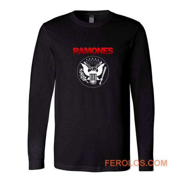 Ramones Punk Rock Band Long Sleeve