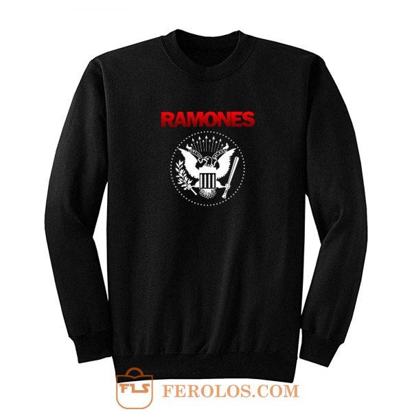 Ramones Punk Rock Band Sweatshirt