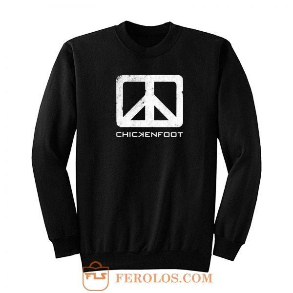 Rare Chickenfoot Joe Satriani Band Sweatshirt