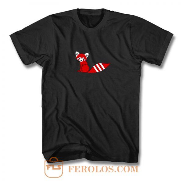 Red Panda X Fox T Shirt