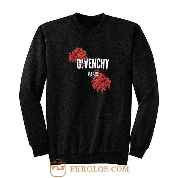 Red Rose Paris Givenchy Sweatshirt