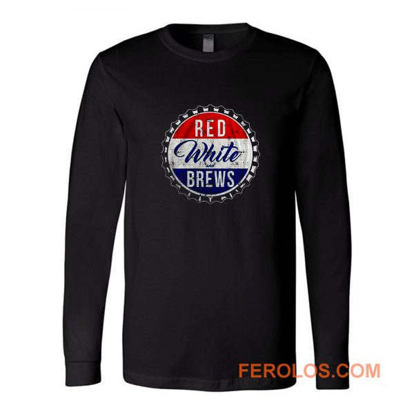 Red White And Brews Long Sleeve