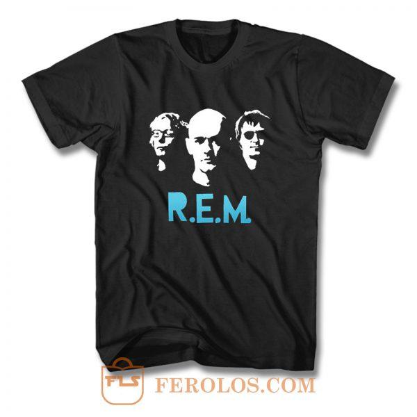 Rem Rock Band T Shirt