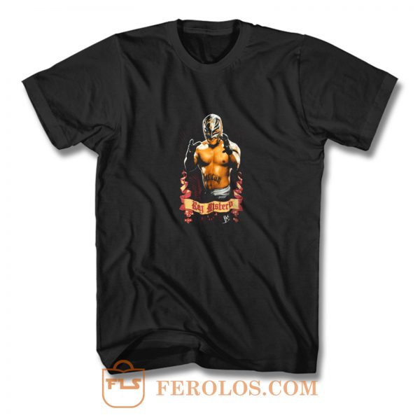 Rey Mysterio Wrestling Champion T Shirt