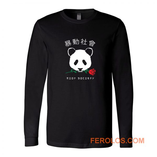 Riot Society Panda Long Sleeve