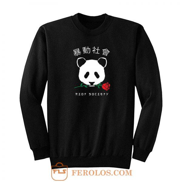 Riot Society Panda Sweatshirt