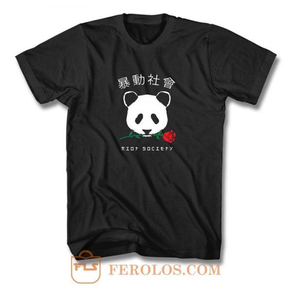 Riot Society Panda T Shirt