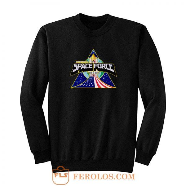 Rocket Vintage Space Force Sweatshirt