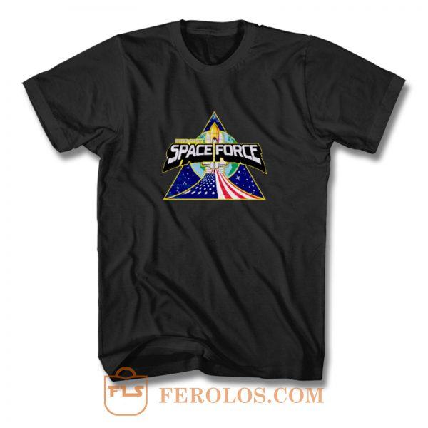 Rocket Vintage Space Force T Shirt