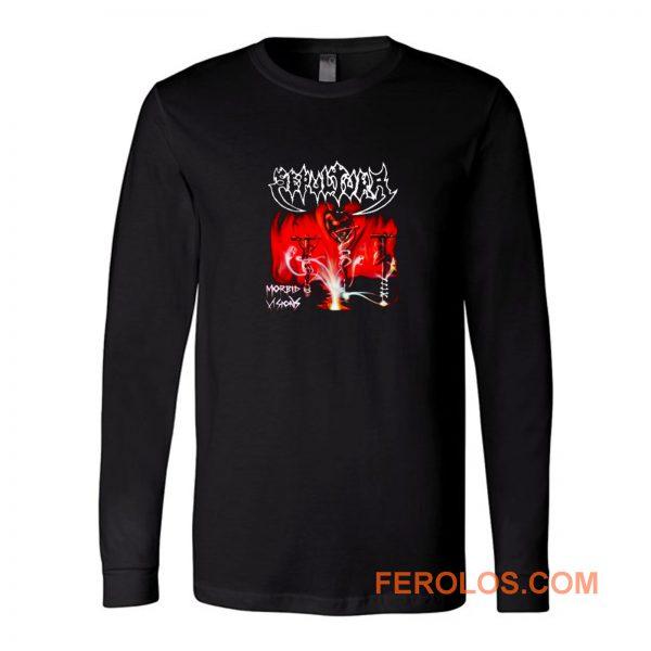 Sepultura Band Morbid Vision Long Sleeve