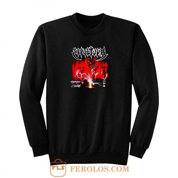 Sepultura Band Morbid Vision Sweatshirt