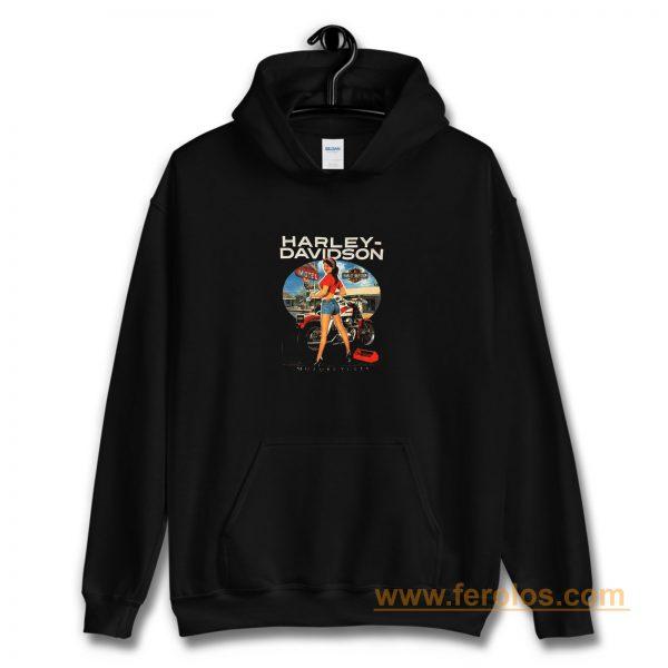 Sexy Girl Harley Davidson Hoodie