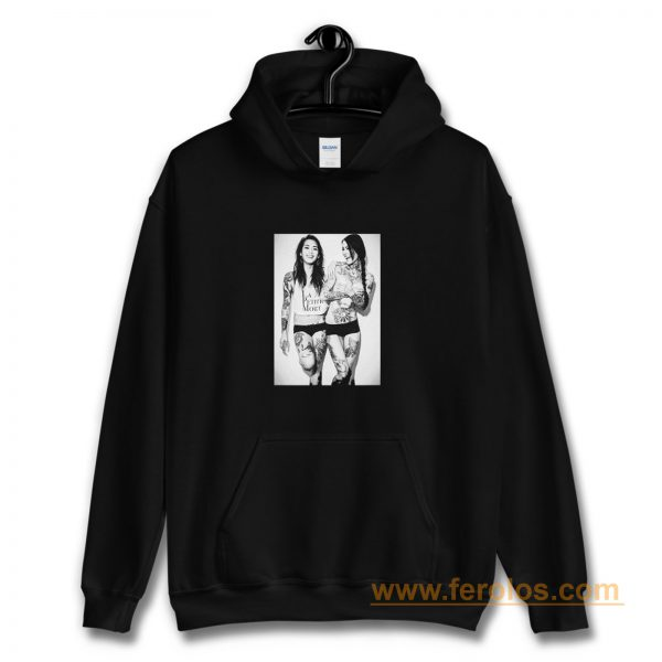Sexy Girl Laugh Retro Hoodie