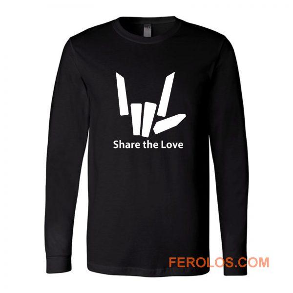 Share The Love Long Sleeve