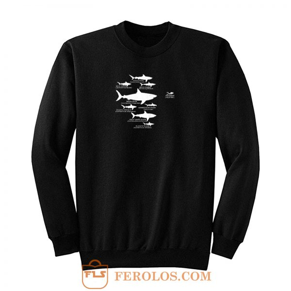 Shark Diving Sweatshirt