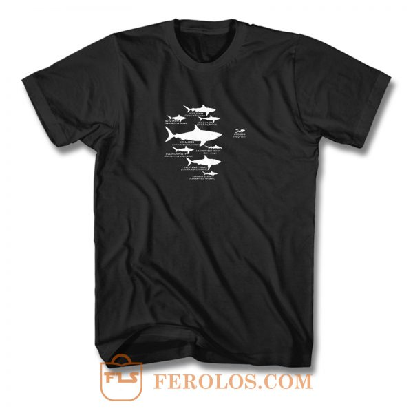 Shark Diving T Shirt