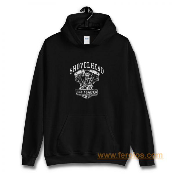 Shovelhead Engine Harley Davidson Hoodie