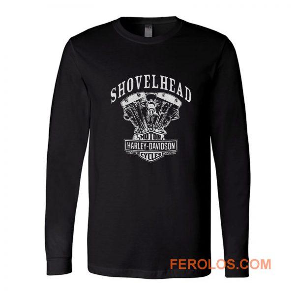 Shovelhead Engine Harley Davidson Long Sleeve