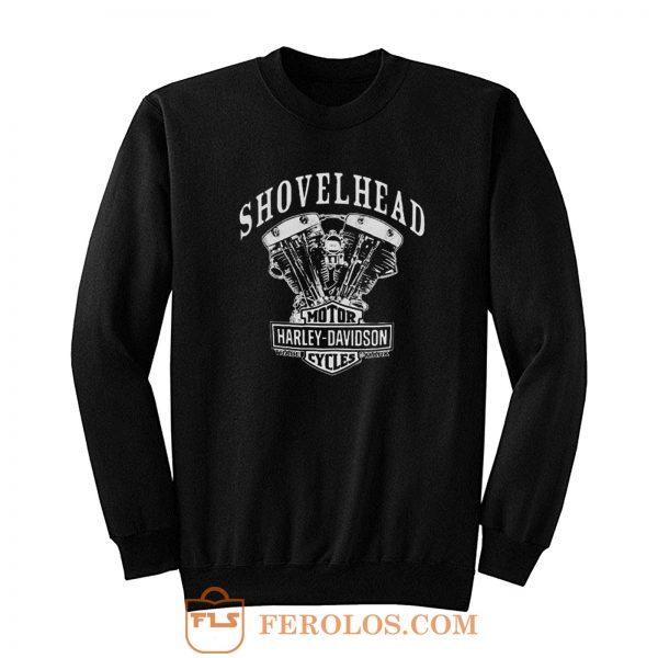 Shovelhead Engine Harley Davidson Sweatshirt