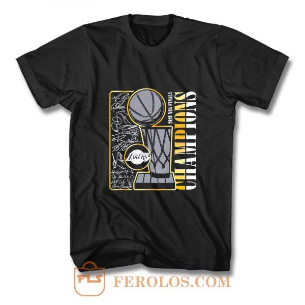 Signature Champions Lakers T Shirt