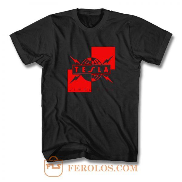 Simplicity Tesla T Shirt