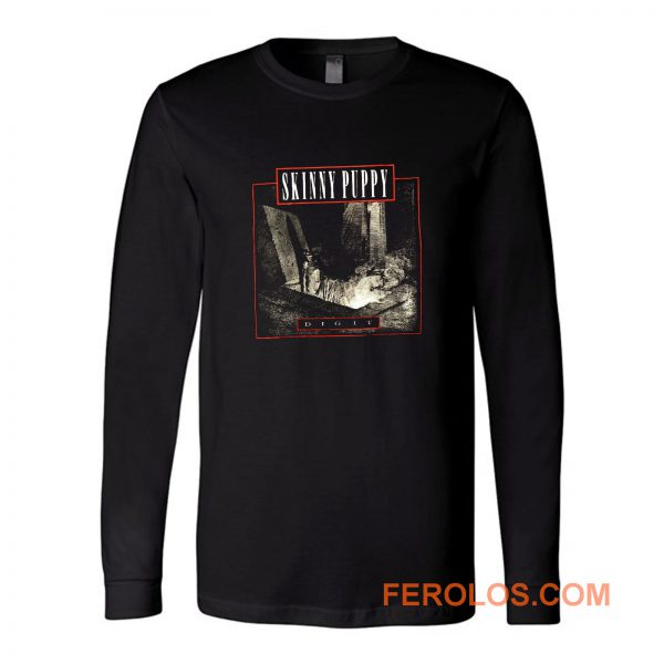 Skinny Puppy Band Long Sleeve