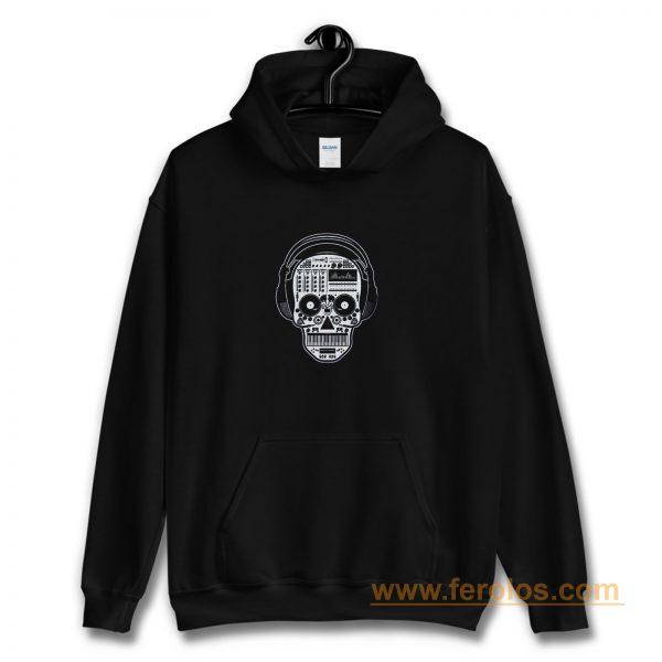 Skull Dj Hoodie