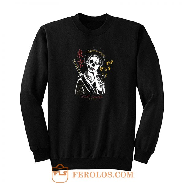 Skull Geisha Sweatshirt