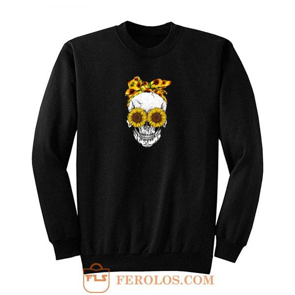 Skull Sunflower Sweatshirt