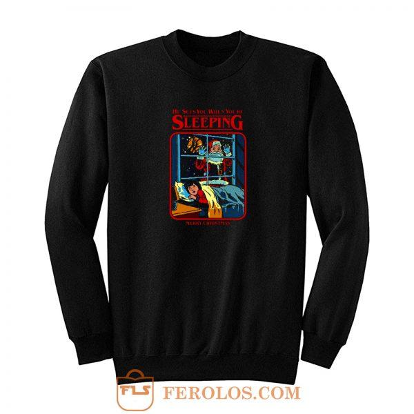 Sleeping Merry Christmas Sweatshirt