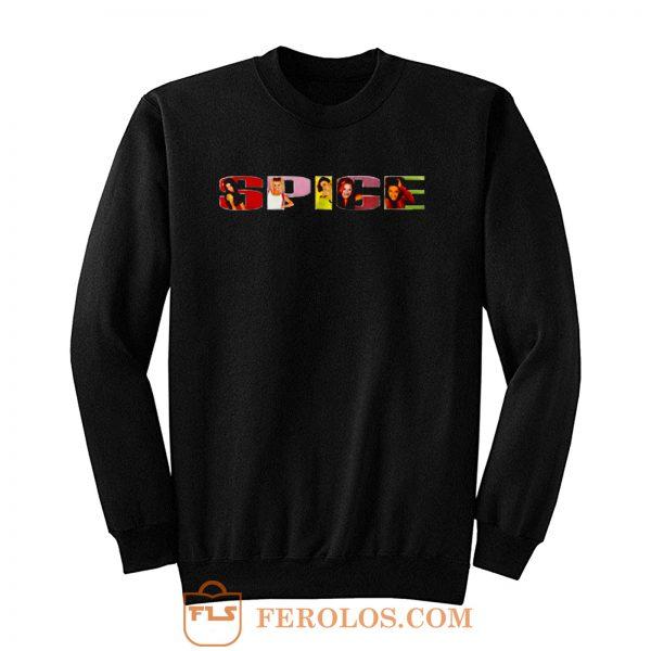 Spice Girls Retro Sweatshirt