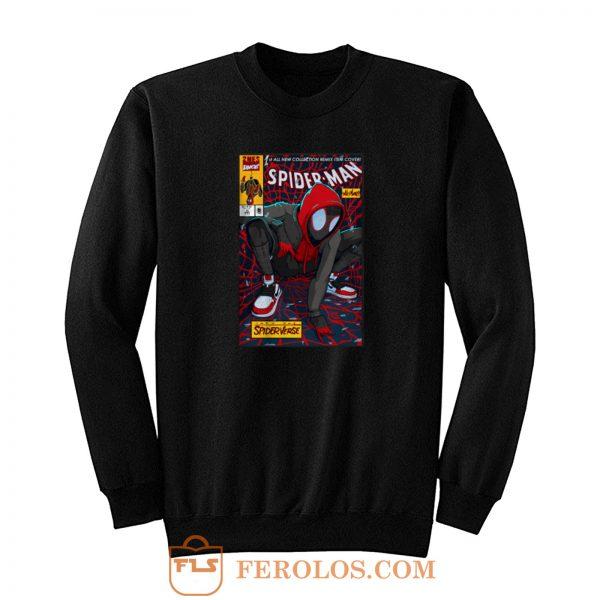 Spiderman Portrait Spiderverse Sweatshirt