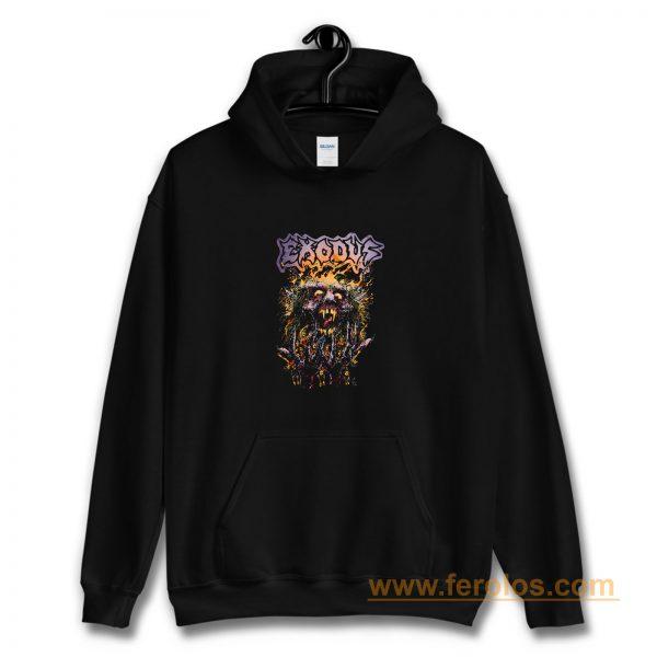 Splatter Head Exodus Band Hoodie