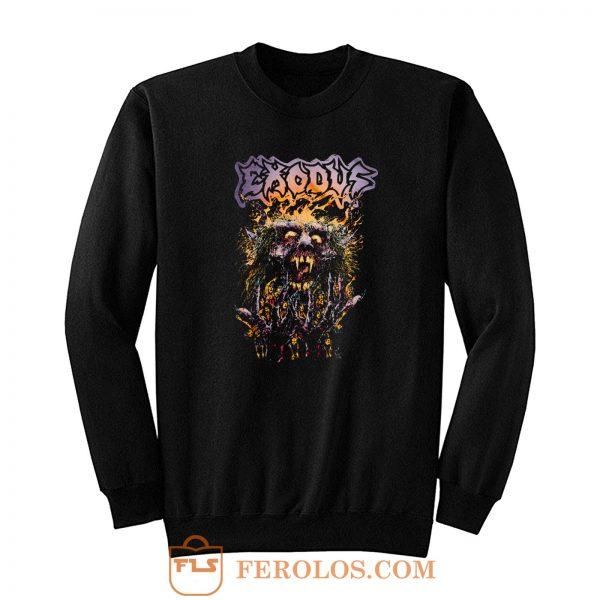 Splatter Head Exodus Band Sweatshirt