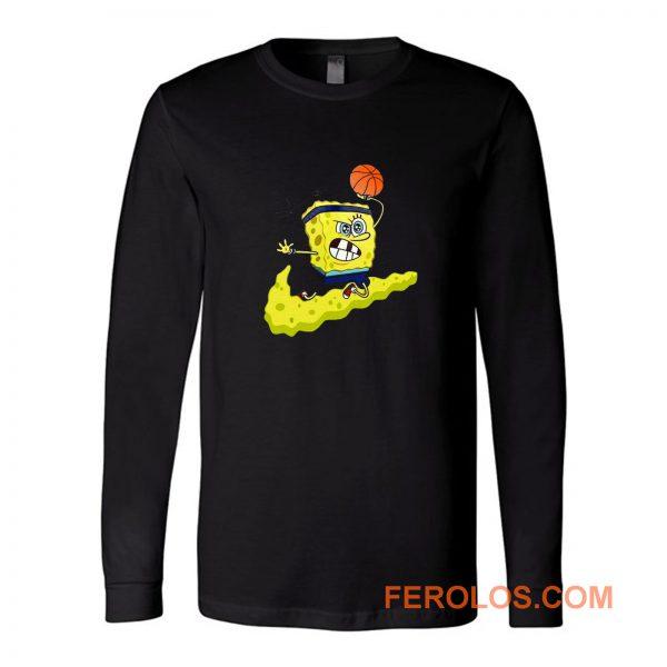 Sponge Bob Parody Long Sleeve