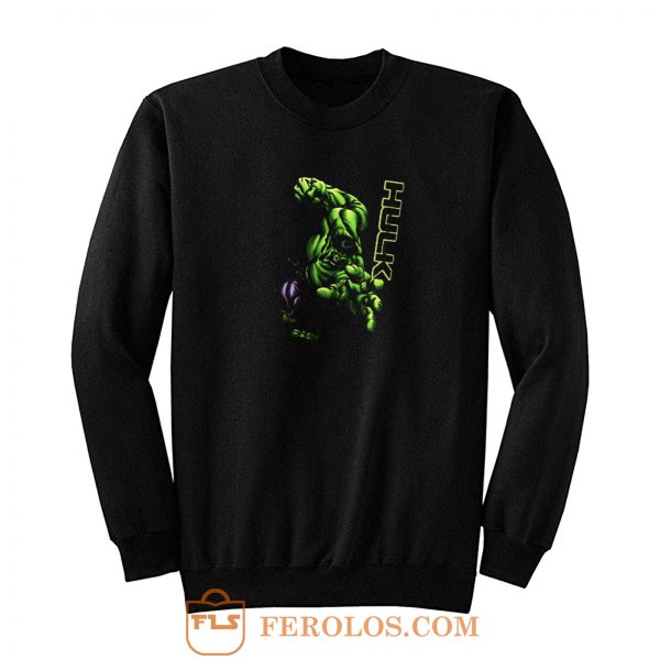 Strong Heroes Hulk The Beast Sweatshirt